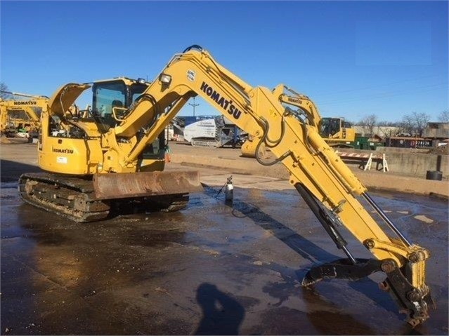 Catalog of Hydraulic Excavator Komatsu PC88